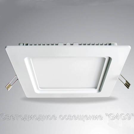 Светодиодный светильник встраиваемый Б ВН 12W КВ15