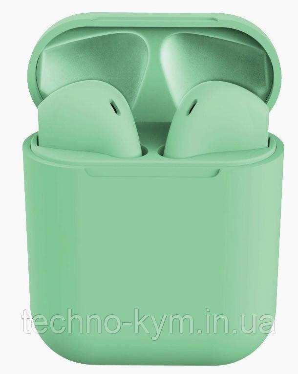 Bluetooth inPods 12 TWS 5.0 green Гарантия 1 месяц