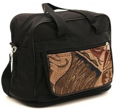 Мужская сумка из полиэстер Wallaby 20711, черный