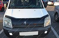 Дефлектор капота Форд Коннект (мухобойка на капот Ford Connect)