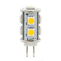 Светодиодная лампа LB-402 12V 9LEDs 5050SMD 2W 4000K G4