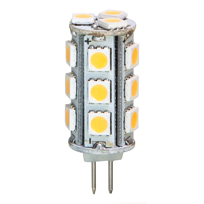 Светодиодная лампа LB-403 12V 18LEDs 5050SMD 3W 4000K G4
