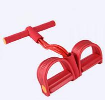 Тренажер для фитнеса многофункциональный, Double Wire - 3 красный