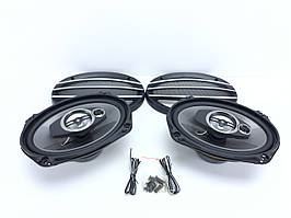 Динамики для авто TS-A6974 6x9 овалы (500W) 2х полосные