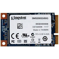 Накопитель SSD mSATA 60GB Kingston (SMS200S3/60G)