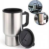 Термокружка Electric Mug Автомобильная Кружка 400мл 12v чашка в машину