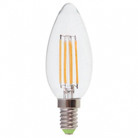 Светодиодная лампа LB-58 C37 230V 4W 400Lm  E14