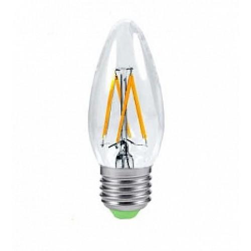 Світлодіодна лампа LB-58 C37 230V 4W 400Lm E27