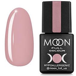 Гель-лак MOON FULL Winter 2021 №644 пудровий рожевий, 8 мл.