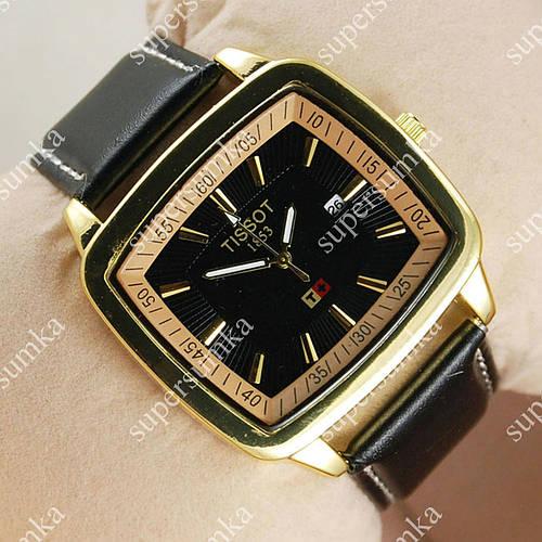 Модные наручные часы Tissot Black/Gold/Black 2207
