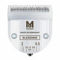 Ніж Moser Blending Blade плоский для стрижки або тушування волосся, 0,5-2 мм (1887-7050)