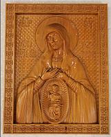 """Икона """"Богородица в родах помощница"""""""