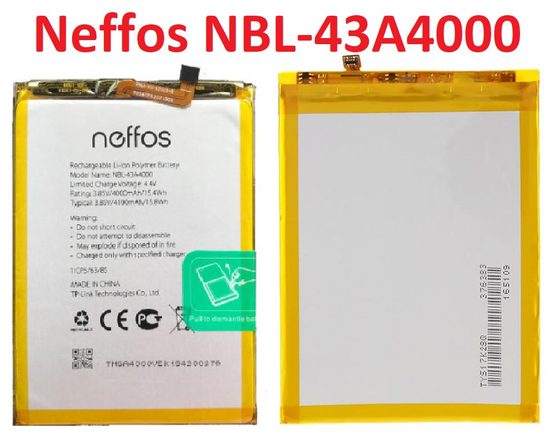 Акумулятор NBL-43A4000 для TP-Link Neffos X20/X20 Pro Original