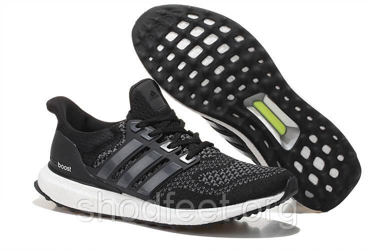 Мужские кроссовки Adidas Ultra Boost Core Black s77417