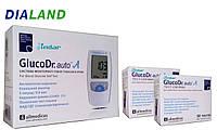 Глюкометр ГлюкоДоктор авто А (GlucoDr. auto A) AGM-4000 + 100 смужок