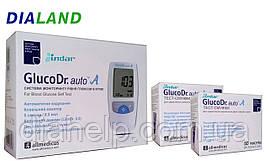 Глюкометр ГлюкоДоктор авто А (GlucoDr. auto A) AGM-4000 + 100 полосок