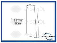 Стекло экскаватор-погрузчик CAT 428B- Боковой угол