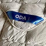 Одеяло на холлофайбере ОДА двуспального размера 175х210 Стеганное зимнее одеяло высокого качества Цвет - Белый, фото 3