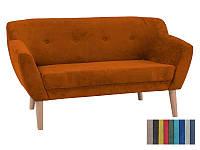 Мягкий диван Signal Bergen 2 оранжевый