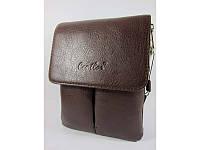 Кожаная мужская сумка-планшет Cantlor K1029M-22