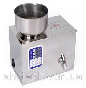 Дозатор ваговий лінійний до 100 грам для сипучих продуктів вибролотковый Лінійний ковшова дозатор AISI-304 FM-100