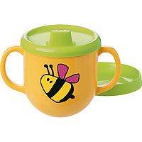 Детский кружку для питья MAX с двумя ручками, оранжевый, 0,2 л EM2363200600