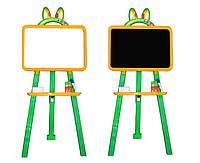 Доска для рисования магнитная 013777/2 желто-зеленый