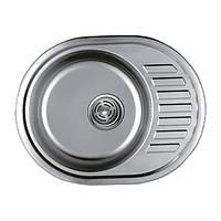 Мойка для кухни Haiba 570x450 мм матовая 0,8 мм.