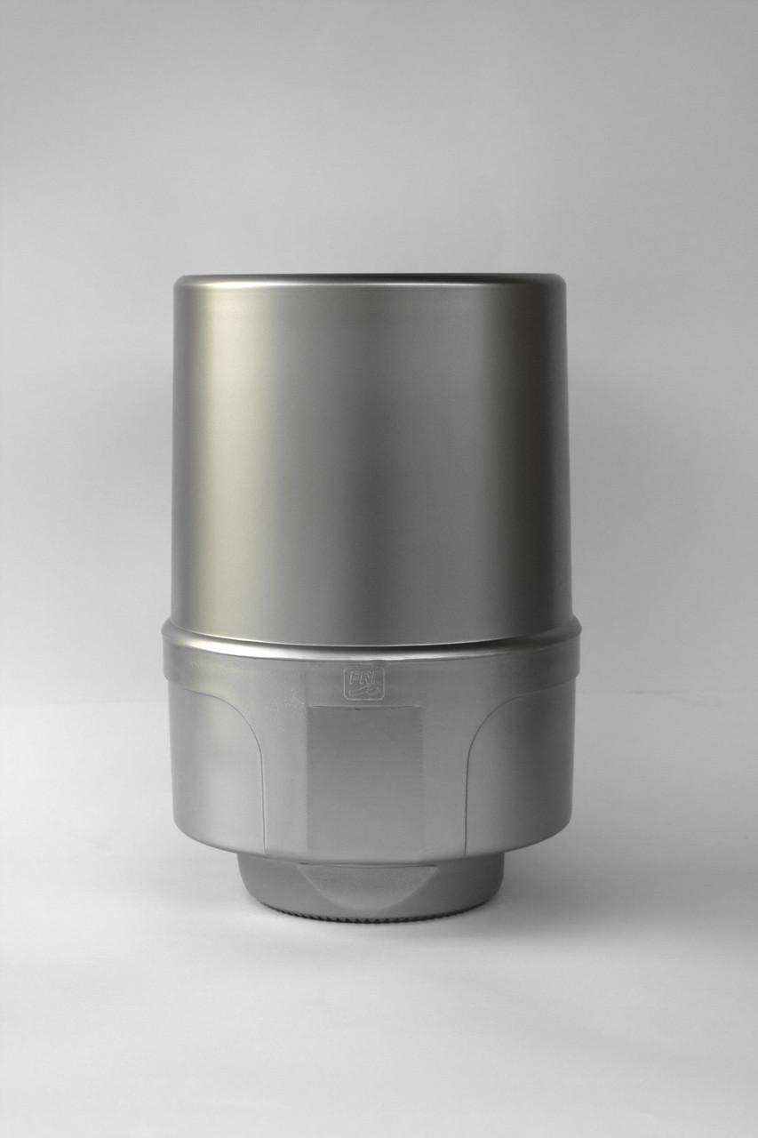 Диспенсер для бумажных полотенец АБС пластик, 9305 серый металлик