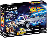 Назад у майбутнє конструктор Плеймобил ДеЛореан 70317 Playmobil Back to The Future DeLorean