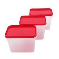Набор емкостей для хранения продуктов 6 предметов Helfer 45-169-004