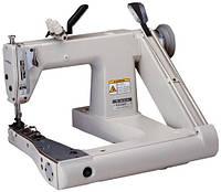 Двухигольная машина двухниточного цепного стежка с П - образной платформой Typical GK398