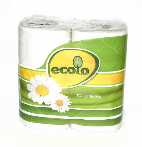 RUTA Туалетная бумага Ecolo 4 рулона