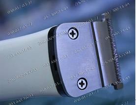 Модная стрижка, Машинка для стрижки Gemei GM 657, 4 насадки, машинка для интим стрижки, стрижки волос, бороды, фото 3