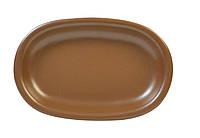 Блюдо керамическое, размеры 22х15х3см, серия Табако KERAMIA 24-237-046
