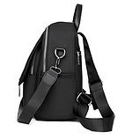 Рюкзак жіночий чорний з зіркою, фото 3