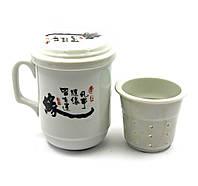 """Чашка заварочная с ситом (SFC35) """"Иероглиф"""" (230 мл)"""