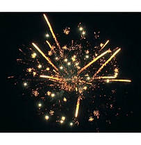 Новогодний салют  DEEP YELLOW Калибр 30 \ 19 выстрелов GWM5033, фото 3