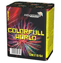 Салют COLORFULL WORLD Калібр 20 \ 12 пострілів GW218-94, фото 2