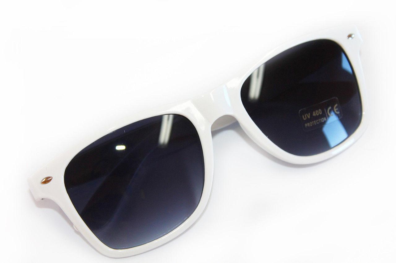 ed105b01140e Белые солнцезащитные очки линзы со степенью защиты UV400 - Оптово -  розничный магазин одежды