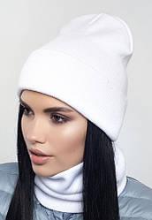 """Комплект вязаный женский """"Империя"""" снежный 907115 - 2"""