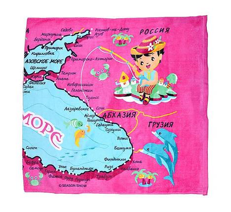 "Пляжное полотенце ""Черное море"" (V1061/01) | 6 шт., фото 2"