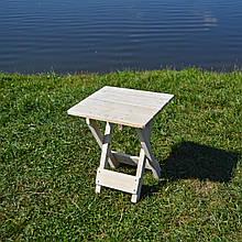 Складной деревянный стульчик