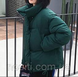 Жіноча зимова тепла куртка на щільному синтепоні Розміри - 42-44, 44-46