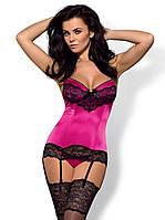 Корсет эротический Obsessive Roseberry corset
