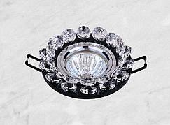 Точечный стеклянный врезной светильник (16-048)