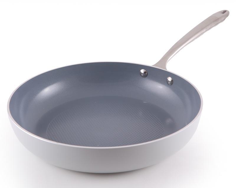 Сковорода Fissman Crystal Ø26см с антипригарным покрытием и индукционным дном FN-AL-4549