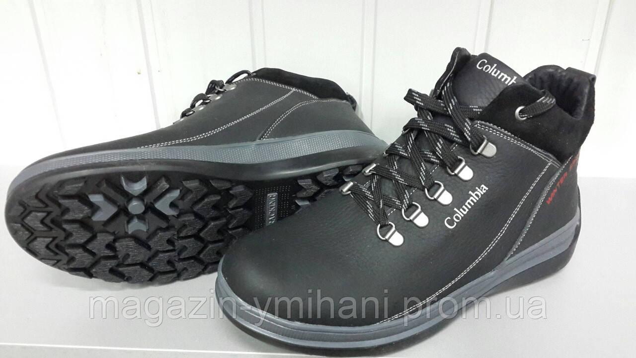 Мужские зимние ботинки Columbia из натуральной кожи.  продажа, цена ... 9aeb97b65f0