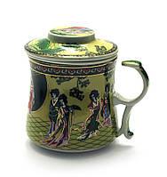 "Чашка заварочная с ситом (BN125-5) ""Сакура"" (300 мл)"