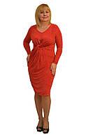 Платье красное -  Модель Л188к (50р) (к)